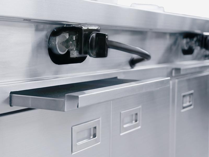 廚房設備汰換-接油托盤-廣昇不鏽鋼設計